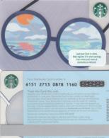 UK STARBUKS - Summer Glasses , CN : 6151, Unused - Gift Cards