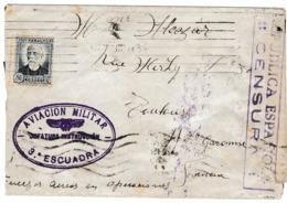 ESPAÑA 1936 AVIACION MILITAR 3 ESCUADRA  JEFATURA INSTRUCCION  ELA 142 - 1931-Hoy: 2ª República - ... Juan Carlos I