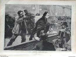 1888 LE HAVRE ATTENTAT CONTRE LOUISE MICHEL - MAROC FESTIN CHEZ L'EMPEREUR - SAN REMO VILLA ZIRIO - ASIE CENTRALE - Journaux - Quotidiens