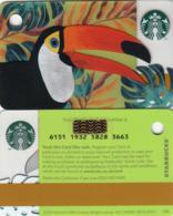 UK STARBUKS - Toucan Mini , CN : 6151, Unused - Gift Cards