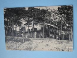 ARCACHON -- Le Moulleau - Carte-photo Villa Ama Baîta Ou Manech-Baîta (?) - Arcachon