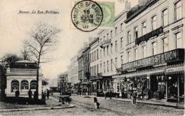 Namur Rue Mathieu Voie Du Tram Magasins De La Station - Namur