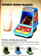 "PUB CONSOLE ""  "" MIDWAY Et NINTENDO "" Avec ( DONKEY KONG ) 1983 ( 2 ) - Spielekonsolen"