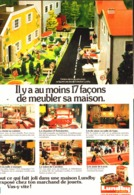 """PUB  MEUBLES MAISONS De  POUPEES  """" LUNDBY """" 1979 ( 1 ) - Vintage Clothes & Linen"""