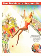 "PUB POUPEE "" BARBIE Articulée "" 1977  (21 ) - Barbie"