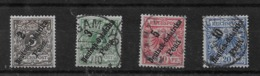 Sellos De Ostafrika Nº Michel 6/9 O Valor Catálogo 20.50€ - Kolonie: Duits Oost-Afrika