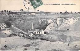 03 - COMMENTRY : Tranchée De L'Espérance - CPA Village ( 6.260 Habitants ) - Allier - Commentry