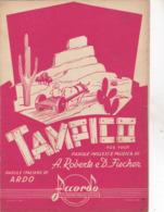 TAMPICO  SPARTITO  AUTENTICA 100% - Musique & Instruments