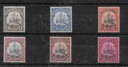 Sellos De Ostafrika Nº Michel 11 Y 14/18 * Valor Catálogo 45.90€ - Kolonie: Duits Oost-Afrika