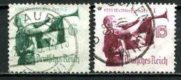 Allemagne   Y&T   543 - 544   Obl   ---      Mi  584 - 585   --   TTB... - Gebruikt