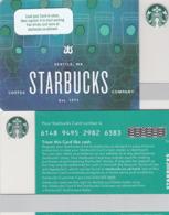 UK STARBUKS - Siren Scales , CN : 6148, Unused - Gift Cards