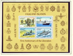 FALKLAND ISLANDS - 1983 Liberation Miniature Sheet Unmounted/Never Hinged Mint - Falklandeilanden