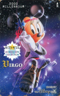 "Japan - Japanese Phonecard Disney. Télécarte Disney Du Japon.  ""MINNIE  -  Vierge"".   NEUVE. - Disney"