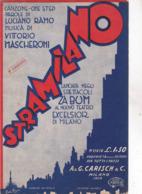S.T.R.A.M.I.L.A..N.O. SPARTITO  AUTENTICA 100% - Música & Instrumentos
