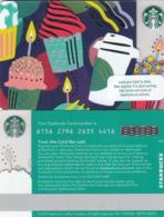 UK STARBUKS - Celebration 2018 , CN : 6156, Unused - Gift Cards