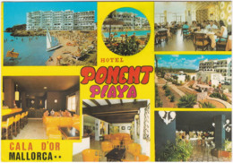 Gf. CALA D'OR. Hotel Ponent Playa.1462 - Mallorca