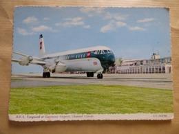 AEROPORT / AIRPORT / FLUGHAFEN    GUERNESEY  VANGUARD  BEA - Aérodromes