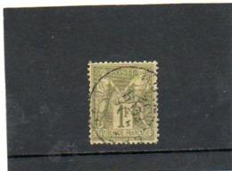 FRANCE    1,00 F   1883   Y&T: 82   Type Sage   (Type II )    Oblitéré - 1876-1898 Sage (Type II)