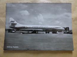 AEROPORT / AIRPORT / FLUGHAFEN   HAMBURG   CARAVELLE   SAS - Aérodromes