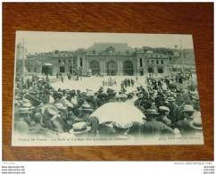 SUISSE : LA CHAUX DE FONDS : La Gare Et Cortege Des Grevistes Du Batiment …... … 4397 - Non Classés