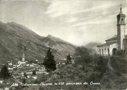Clusone (Bergamo) Panorama Da Crosio, General View From Crosio, Vue Generale Du Crosio - Bergamo