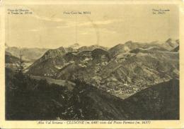 Clusone (Bergamo) Panorama Da Pizzo Formico, View From Pizzo Formico, Vue Du Pizzo Formico - Bergamo