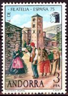 Andorra. 1975. Intl. Philatelic Exhibition. ESPAMER'75. Madrid - Exposiciones Filatélicas
