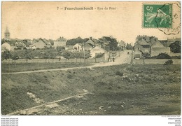 58 FOURCHAMBAULT. Rue Du Pont 1913 - Autres Communes