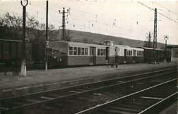 221019 - PHOTO D BREHERET 1955 Chemin De Fer Train Locomotive - Gare De BOUSSENS FNC Boussens St Girons - Francia