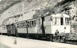 221019 - PHOTO D BREHERET 1937 Chemin De Fer Train Locomotive - 66 Gare De VILLEFRANCHE De CONFOLENCE - France