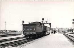 221019 - PHOTO D BREHERET 1955 Chemin De Fer Train Locomotive - 06 Gare De DEAUVILLE - 22B462 SNCF - Deauville