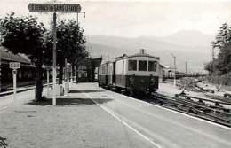 221019 - PHOTO D BREHERET 1956 Chemin De Fer Gare Train - 74 ST GERVAIS LES BAINS LE FAYET Locomotive 202 - Saint-Gervais-les-Bains