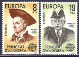 Andorra. 1980. EUROPA Cept - Spanisch Andorra