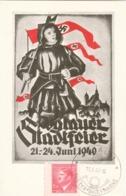 "III. Reich, Propaganda Karte, "" Iglauer Stadtfeier "" - Guerre 1939-45"