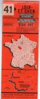 Carte Routière  PONCHET -- Loir Et Cher -- 41 ...............à Saisir - Cartes Routières