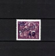 TSCHECHOSLOWAKEI , Czechoslovakia , 1926  , ** , MNH , Postfrisch , Mi.Nr. 42  PORTO - Segnatasse