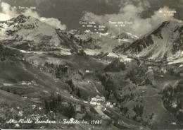 Foppolo (Bergamo) Scorcio Panoramico, Panoramic View, Vue Panoramique, Passo Della Croce Sul Fondo - Bergamo