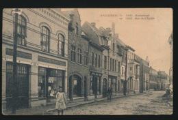 AVELGEM IN 1920 KERSTRAAT - Avelgem
