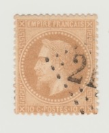 France : A VOIR !!!! Très Beau N° 28 B - - 1863-1870 Napoléon III Lauré