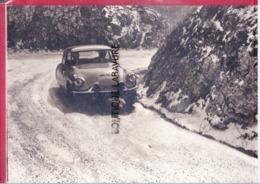 La DS 19--Victorieuse Dans Le Criterium Neige Et Glace 1962---Carte Publicitaire - Turismo