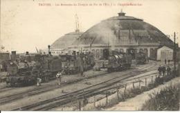 TROYES ( 10 ) - Les Rotondes Du Chemin De Fer De L'Est, à La Chapelle Saint Luc. - Troyes