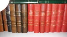 Série Complète Reliée (ex Crustin) Des Balasse Magazine De N°1 En 1936 à 1986. Parfait état. Transportable En Belgique - Filatelie En Postgeschiedenis