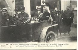 SOISSONS ( 02 ) - Guerre De 1914 - Mme Macherey, Vaillante Dame De France. - Soissons