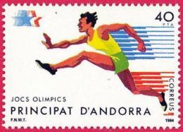 Andorra. 1984. Los Angeles. Summer Olympic Games - Summer 1984: Los Angeles