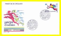 Andorra. 1984. FDC. Summer Olympic Games. Los Angeles - Andorra Spagnola