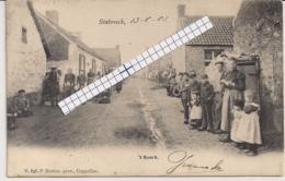 "STABROECK-STABROEK ""''T BOSCH-ARMENMENSENBUURT"" HOELEN N°698 TYPE 2  01.05.1903 - Stabrök"