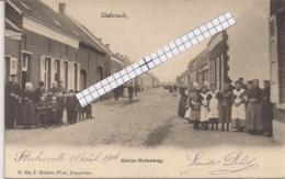 """STABROECK-STABROEK """" KLEINE MOLENWEG-VEEL VOLK"""" HOELEN NR 332 -TYPE2 21.06.1902 - Stabrök"""