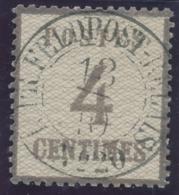 """Alsace N°3 4c Obl Allemande CàD Rond """" K.PR. FELDPOST RELAIS N°20 """"  TOUL Meurthe Et Moselle Sur Fragment RARE - Elsass-Lothringen"""