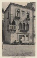 AK – PIRANO (Piran) - Venezianerhaus Mit Cafe Am Tartiniplatz 1920 - Slowenien
