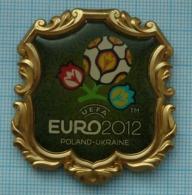 UKRAINE / Metal Magnet / POLAND.  Football Europe Championship UEFA EURO 2012 - Sport